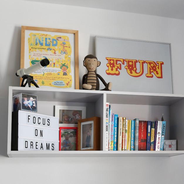 a little display shelf