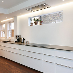 Gallery Style Kitchen design services Surrey and London
