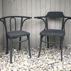 chairs sourced by Lost and Found interiors, interior design and furniture sourcing service based in South West London