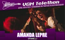 Amanda Lepre SBF Telethon Artist Templa