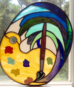 Stained Glass Painters Palette