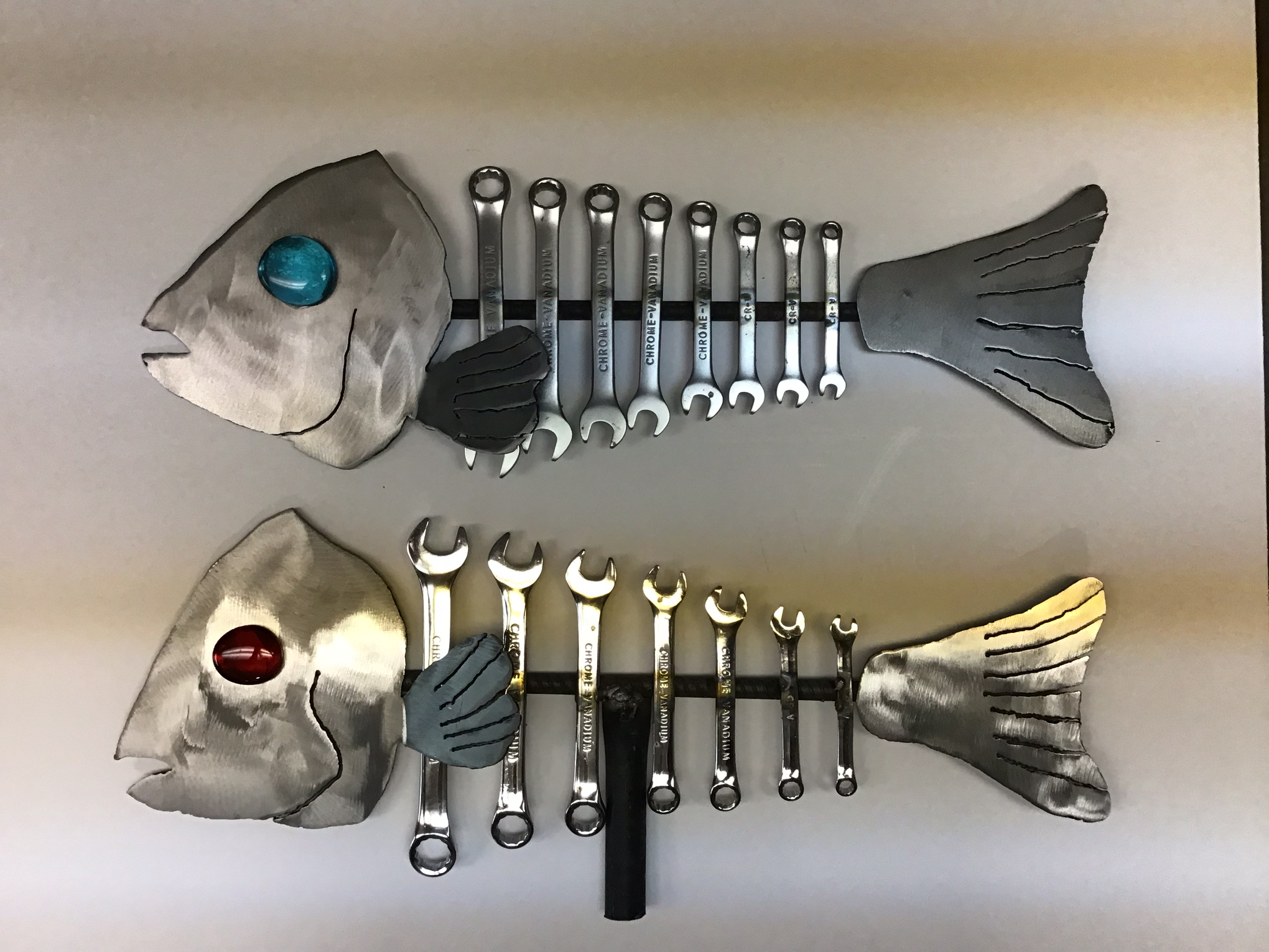 Steel wrench fish