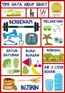 Image result for tip hidup sihat