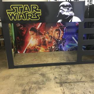 Custom Star Wars themed kids bunkbed