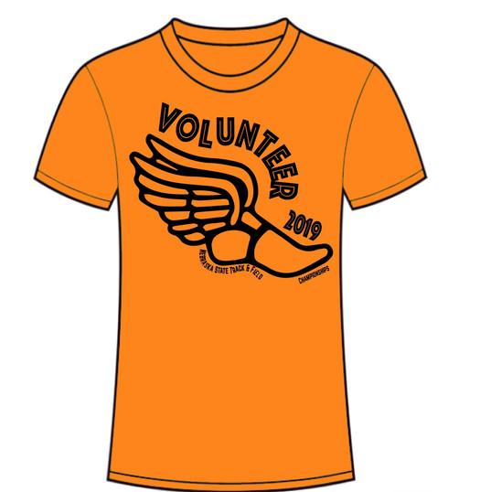 Volunteer Tshirt State Track
