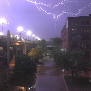 I love a good thunderstorm in the mornin