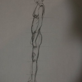 Life Drawing Sketch 2