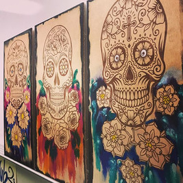 Day of the Dead Trypticht