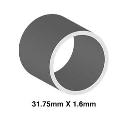 STAINLESS 31.75mm X 1.6mm (TUBE)