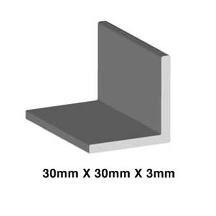 STAINLESS 30mm x 30mm x 3mm (ANGLE)