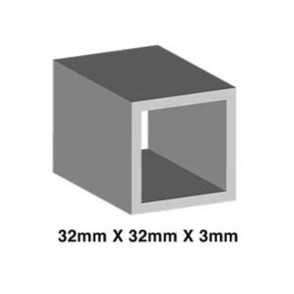 STAINLESS 32mm X 32mm X 1.6mm (SHS)