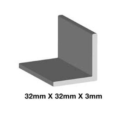 MILD STEEL 32mm x 32mm x 3mm (ANGLE)