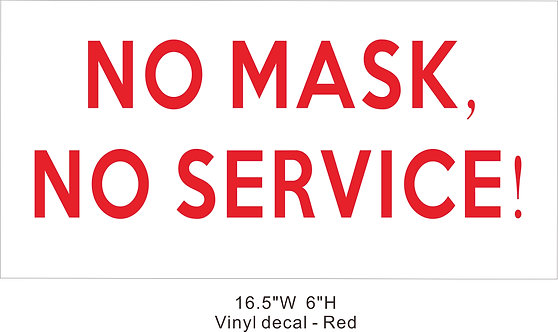 Self adhesive wall decal NO mask NO service stickers
