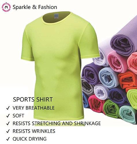 Summer sports T shirt quick drying