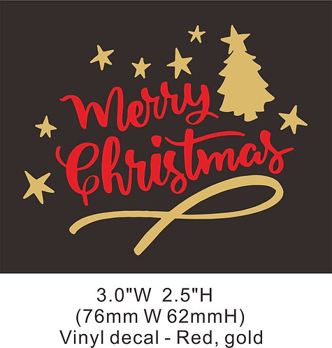 Christmas vinyl 2-2 heat transfer