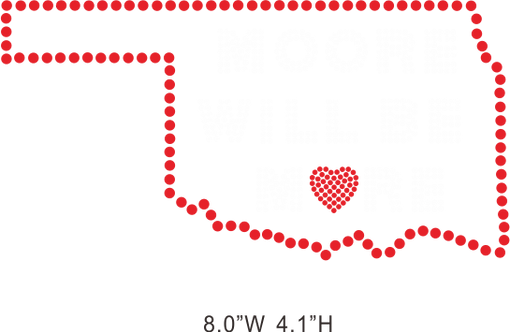 Moore will be more hot fix rhinestone/iron on crystal