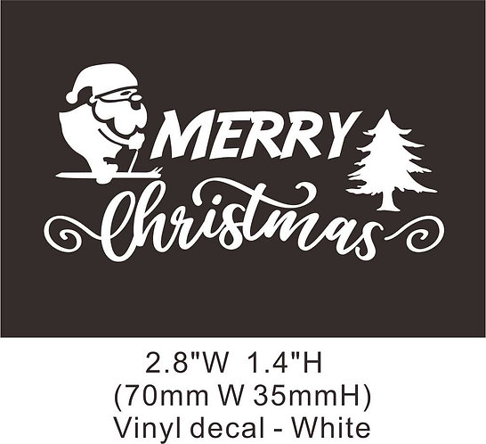 Christmas 1-1 vinyl heat transfer non printed high quality stretched