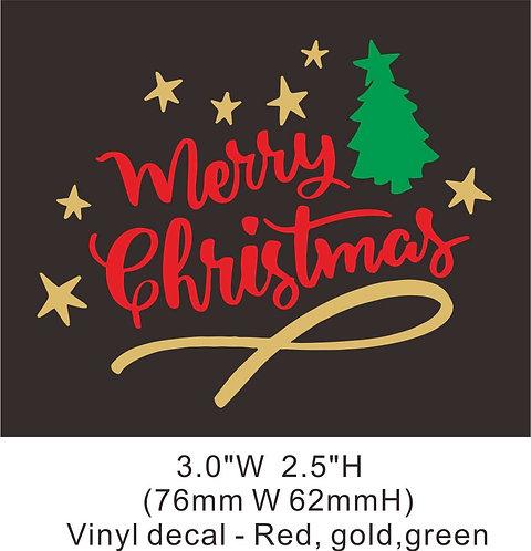Christmas vinyl 2-3 heat transfer