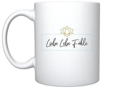 """Teetasse  """"Liebe Lebe Fühle"""""""