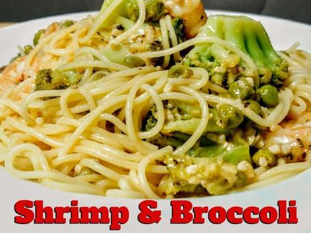 Shrimp & Broccoli Pasta - quick recipe
