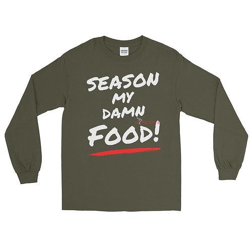 Season My Damn Food LS Tee