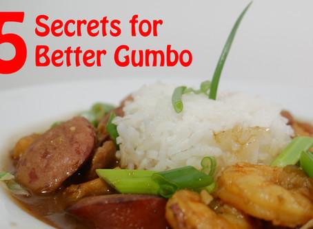 5 Secrets for Better Gumbo
