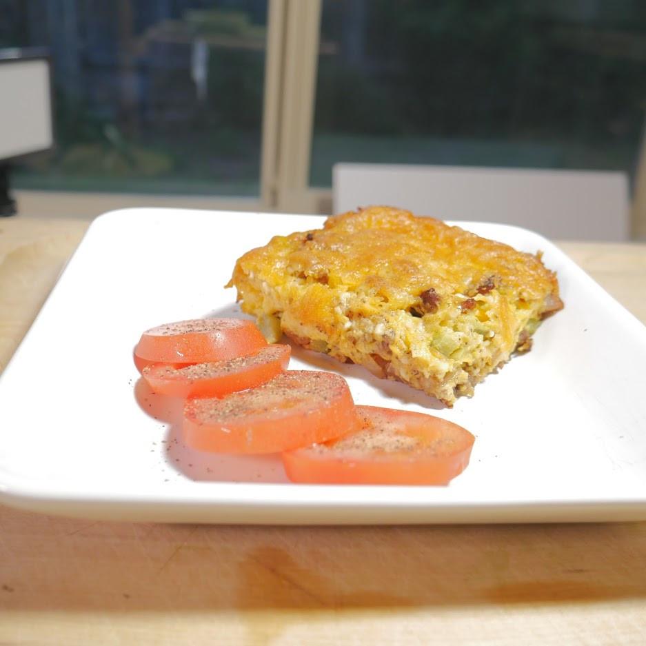 Bacon Cheeseburer Casserole - Keto recipe