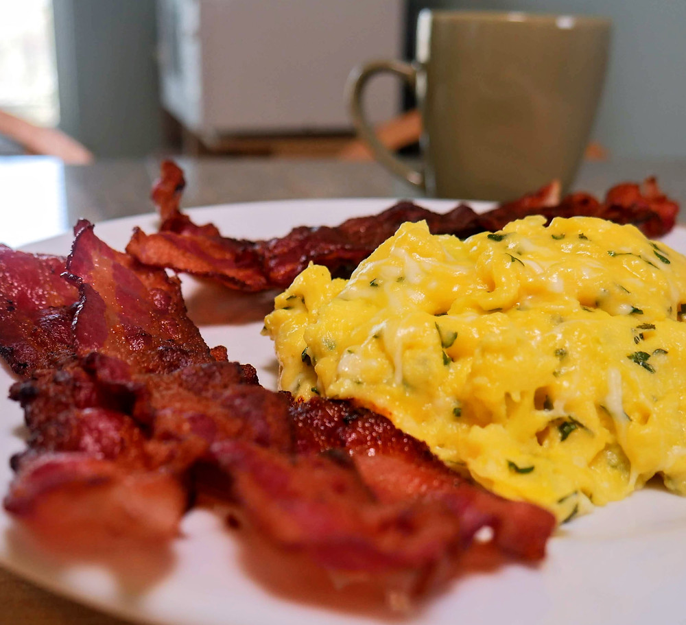 Really good scrambled eggs