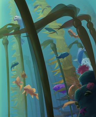 Kelp Forest Closeup