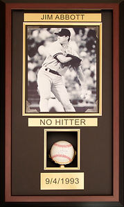 Jim Abbott - No Hitter