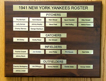 1941 NEW YORK YANKEES ROSTER | 1941 NEW YORK YANKEES WORLD SERIES