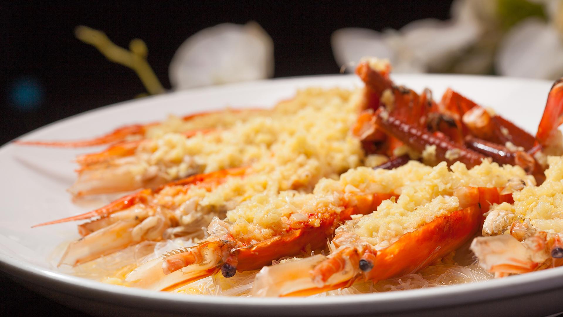 Taiming Lanpin 蒜蓉大頭蝦