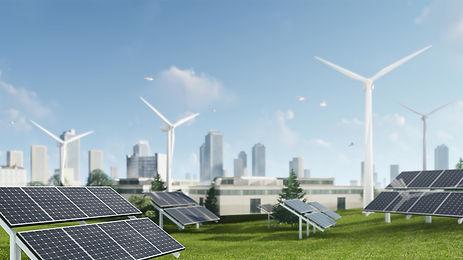 3d-rendering-illustration-windmill-solar