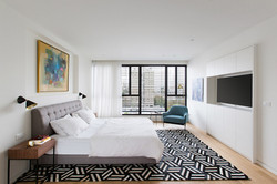 Luxury Penthouse master bedroom