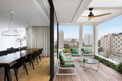 Luxury Penthouse terrace
