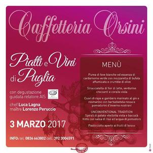 Piatti e vini di Puglia