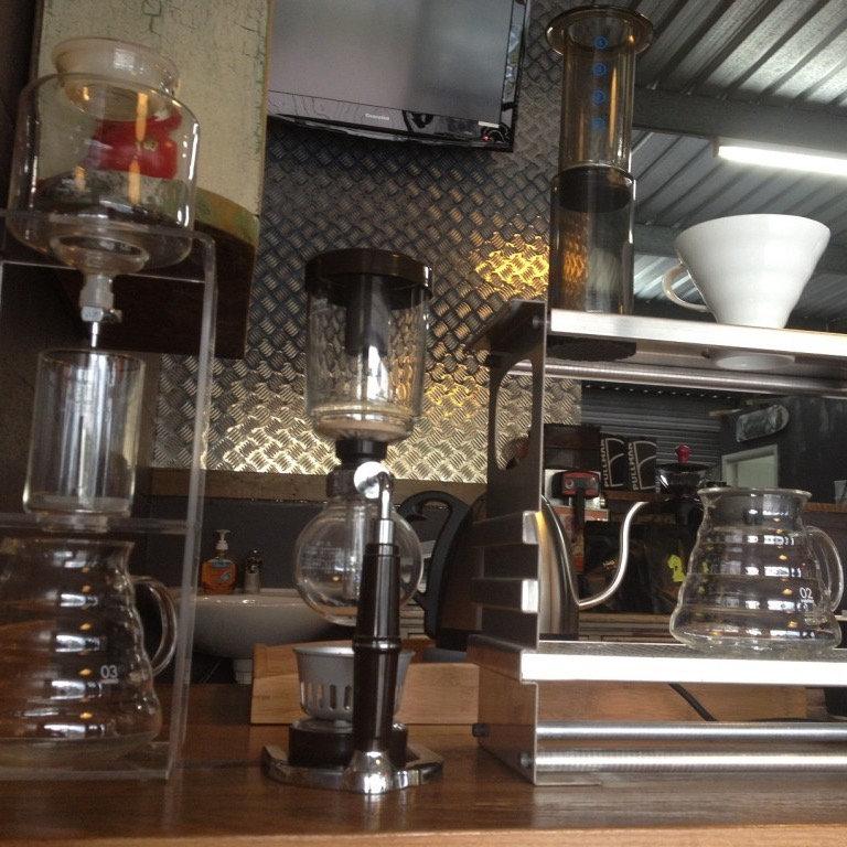 Specialty coffee e brewing bar