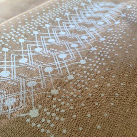 Sérigraphie Textile Lin