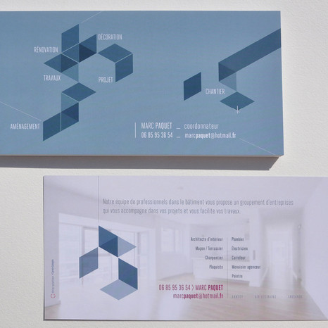 Carte de communication Marc Paquet