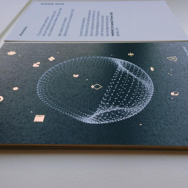 Carte de vœux Ensaama Paris