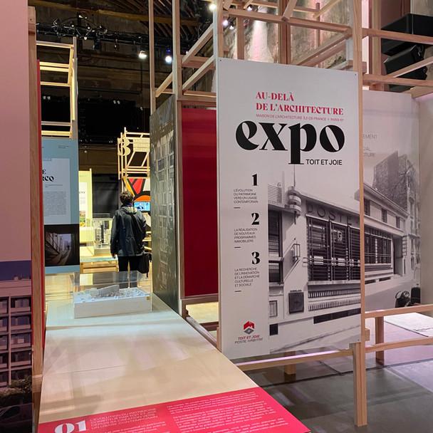 EXPOSITION Maison de l'architecture