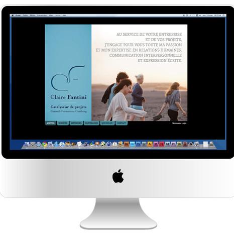 Site internet Claire Fantini