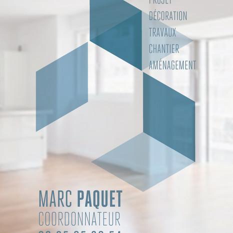 Carte de visite Marc Paquet