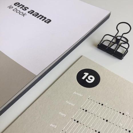 Book + Carte de vœux 2018-2019 Ensaama