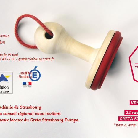 Carte pour l'inauguration du Greta Strasbourg Europe GSE
