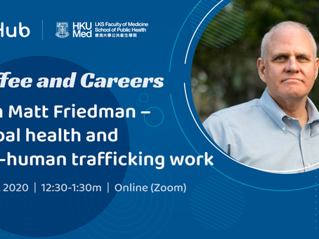 Coffee and Careers with Matt Friedman (27 November 2020)