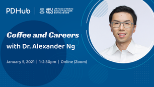 Coffee and Careers with Dr Alexander Ng (5 January 2021)