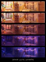 Bedroom Lighting Exploration