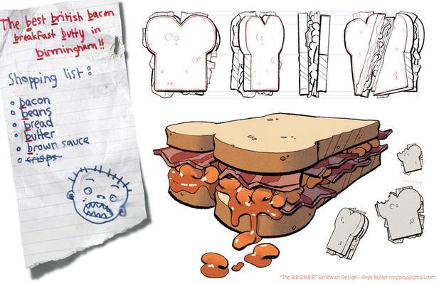 Sandwich - Prop Design