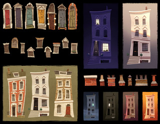 Georgian Houses Components